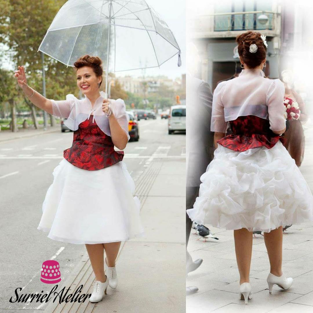 Vestido de novia PIN UP