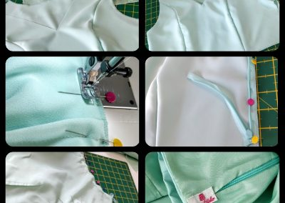 Surriel Atelier Modista Barcelona confección a medida top corto